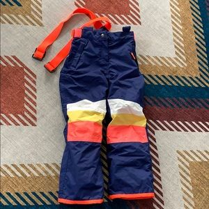 Awesome Boden Snowpants with removable suspenders